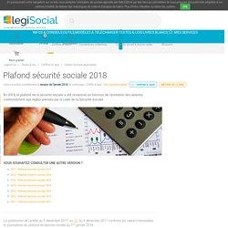 Plafond sécurité sociale 2018 2017 2016 2015 2014 2013 2012 2011