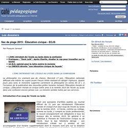 Dossier EMC - Education civique - ECJS