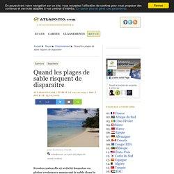 Quand les plages de sable risquent de disparaître