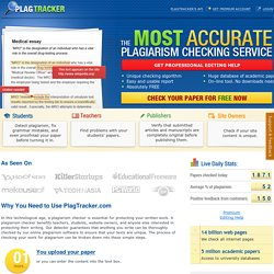 Plagiarism Checker - the most accurate and absolutely FREE! Try now!
