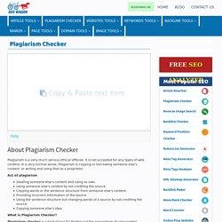Best Plagiarism Checker - Plagiarism Detector