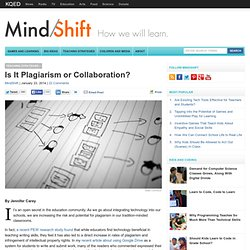 Is It Plagiarism or Collaboration?