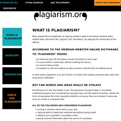 What is Plagiarism? — Plagiarism.org - Best Practices for Ensuring Originality in Written Work