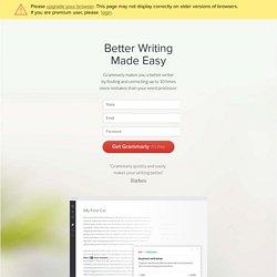 Instant Grammar Check - Plagiarism Checker - Online Proofreader