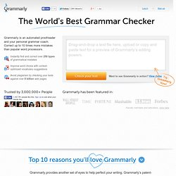 Best Grammar Checker and Proofreading Software by Grammarly