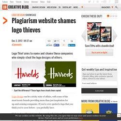 Plagiarism website shames logo thieves