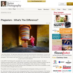 Plagiarism - What's The Difference?