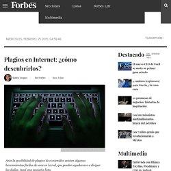 Plagios en Internet: ¿cómo descubrirlos?