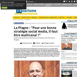 """La Plagne : """"Pour une bonne stratégie social media, il faut être multicanal !"""""""