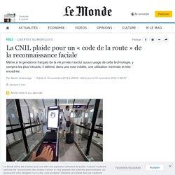 La CNIL plaide pour un «code de la route» de la reconnaissance faciale