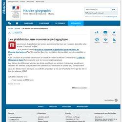 Les plaidoiries, une ressource pédagogique-Histoire-géographie-Éduscol