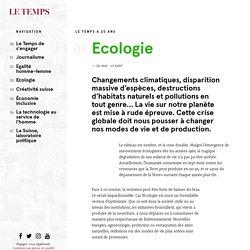 Plaidoyer pour l'écologie - Le Temps de s'engager