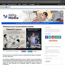 Plaidoyer pour le journalisme mobile