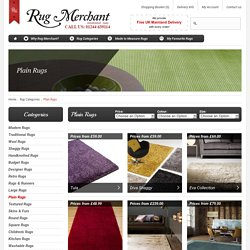Plain Rugs, Plain Wool Rugs, Large Plain Rugs - Rugmerchant.co.uk