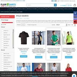 Plain Polo Shirts in London