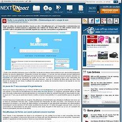 Suite à une plainte de la SACEM, « Delamusique.net » coupe le son