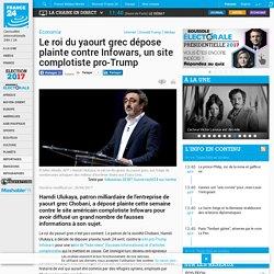 Le roi du yaourt grec dépose plainte contre Infowars, un site complotiste pro-Trump