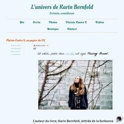 Plainte Contre X, un papier du Vif - L'univers de Karin Bernfeld