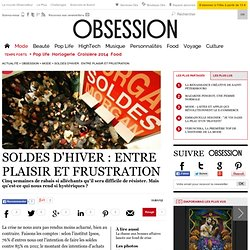 Soldes d'hiver : entre plaisir et frustration - Tendance - Nouvelobs.com