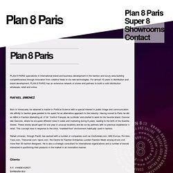 PLAN 8 * PARIS