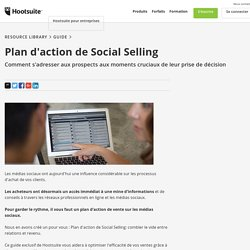 Plan d'action de Social Selling