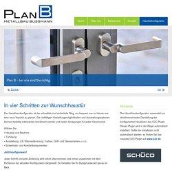 Plan B GmbH - Metallbau Bußmann