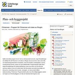 Plan- och byggprojekt - Göteborgs Stad