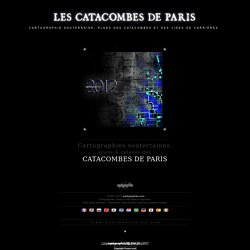 [Plan des catacombes de Paris]