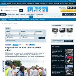 Le plan choc de PSA vire à l'affaire d'Etat - Automobile - 13/07