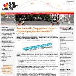 Plan Climat Grand Lyon