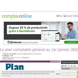 Le plan comptable général au 1er janvier 2020
