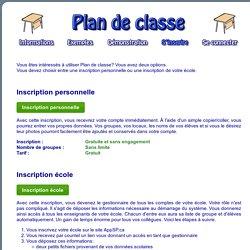 Plan de classe