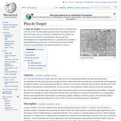 Plan de Turgot - Paris au 18è siècle [carte]
