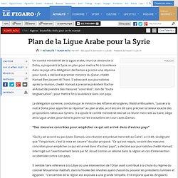 Plan de la Ligue Arabe pour la Syrie