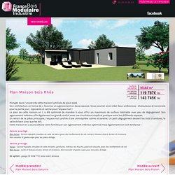 Plan Maison bois Rhéa