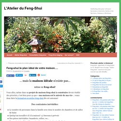 Un plan de maison feng-shui