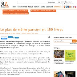 Le plan de métro parisien en 150 livres