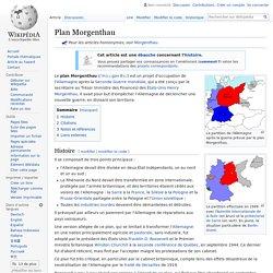 Plan Morgenthau