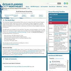 Ocean Planning in the Northeast