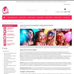 Fun Bachelorette Party Games to Plan a Perfect Hens Night