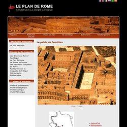 Le palais de Domitien