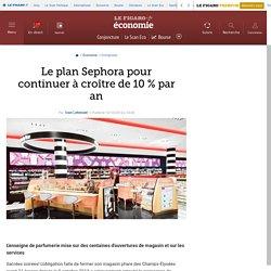 Le plan Sephora pour continuer à croître de 10% par an