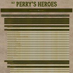 Plan du site - PERRY'S HEROES
