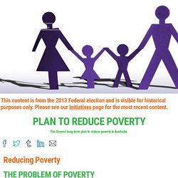 Plan To Reduce Poverty