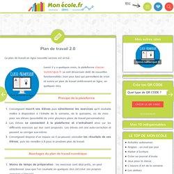 Monecole.fr - Plan de travail 2.0