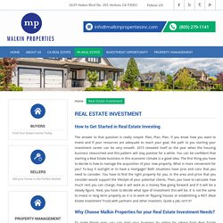 Real Estate Investment with Malkin Properties Inc