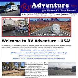 Plan Your Trip - RV Trip Planning Agency