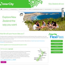 Plan New Zealand travel by bus