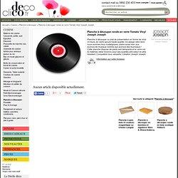 Planche à découper ronde en verre Tomato Vinyl Joseph Joseph