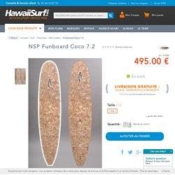Planche de surf Nsp Funboard Coco 7.2